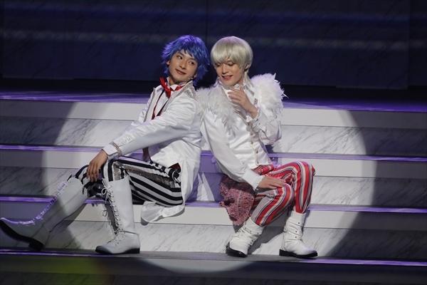 一条シン(左)・如月ルヰ(右)/舞台『KING OF PRISM -Shiny Rose Stars-』ゲネプロより