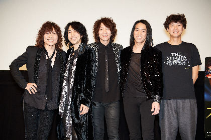 THE YELLOW MONKEYと松永大司監督が公開初日に感無量「生まれてきてよかったと伝えたい」