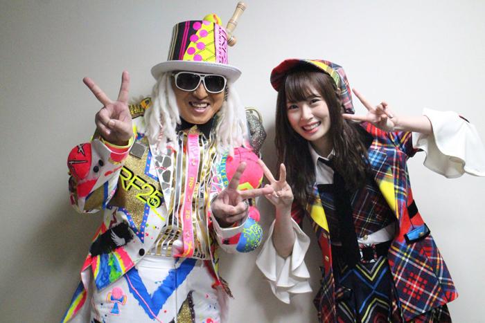 DJ KOO(TRF)、高柳明音(SKE48)
