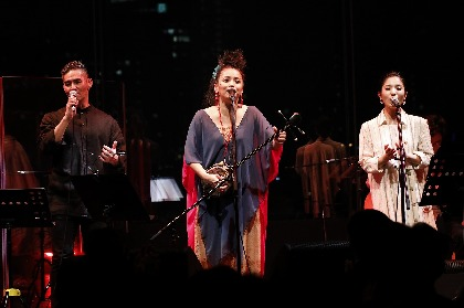 元ちとせ ビルボードライブ東京公演で中孝介、城南海とシマ唄披露