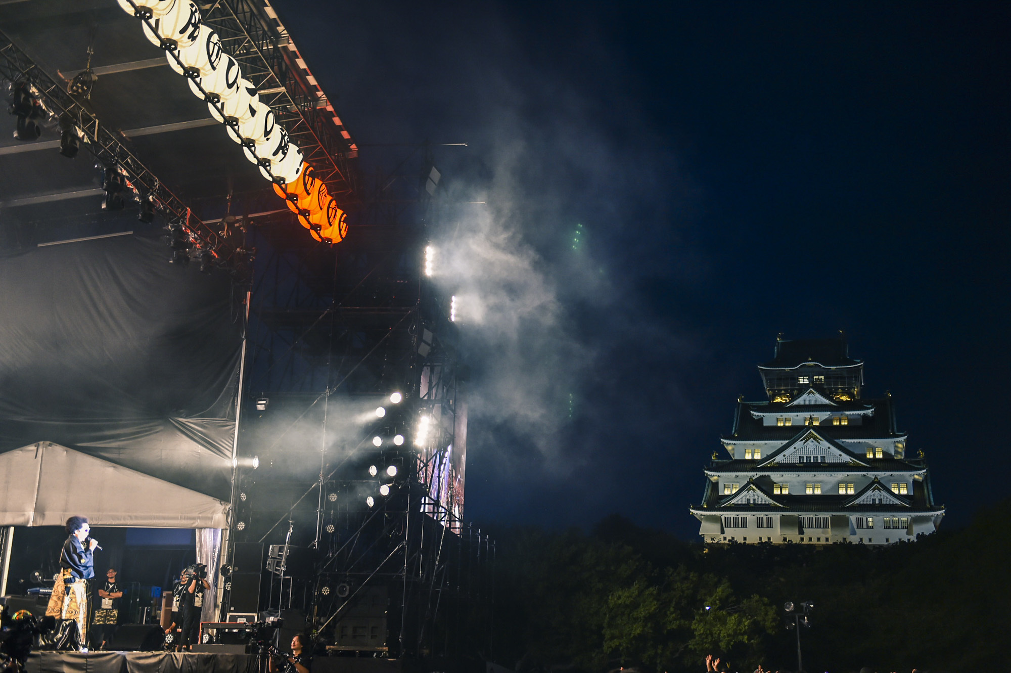 レキシ『お城でライブができる喜びを皆で分かちあおう〜あれ?大阪、いつの陣?〜』 撮影=田中聖太郎