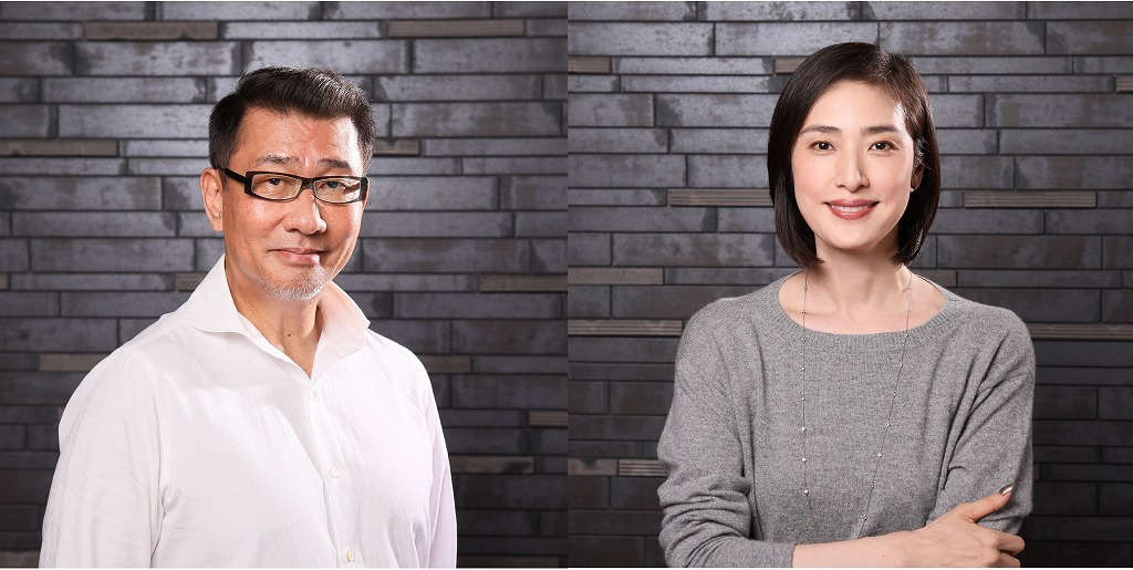 (左から)中井貴一、天海祐希 撮影:宮川舞子