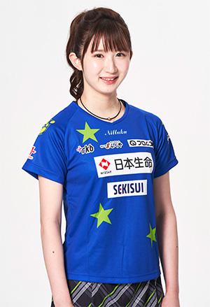 『2020 パーソル クライマックスシリーズ パ』の初戦で始球式を行う、卓球日本代表の早田ひな