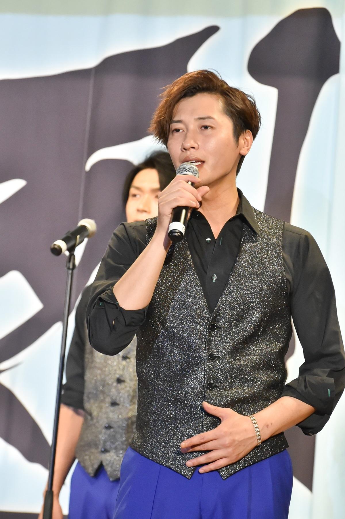 純烈/後上 翔太 撮影=鈴木恵