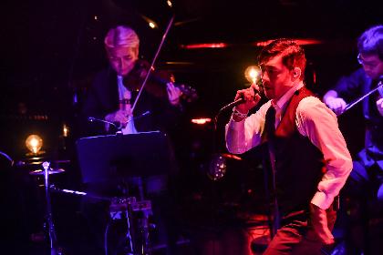 TOSHI-LOWが弦楽四重奏とともに届けた、BRAHMANの名曲たち 『ROCKIN' QUARTET 第5章』
