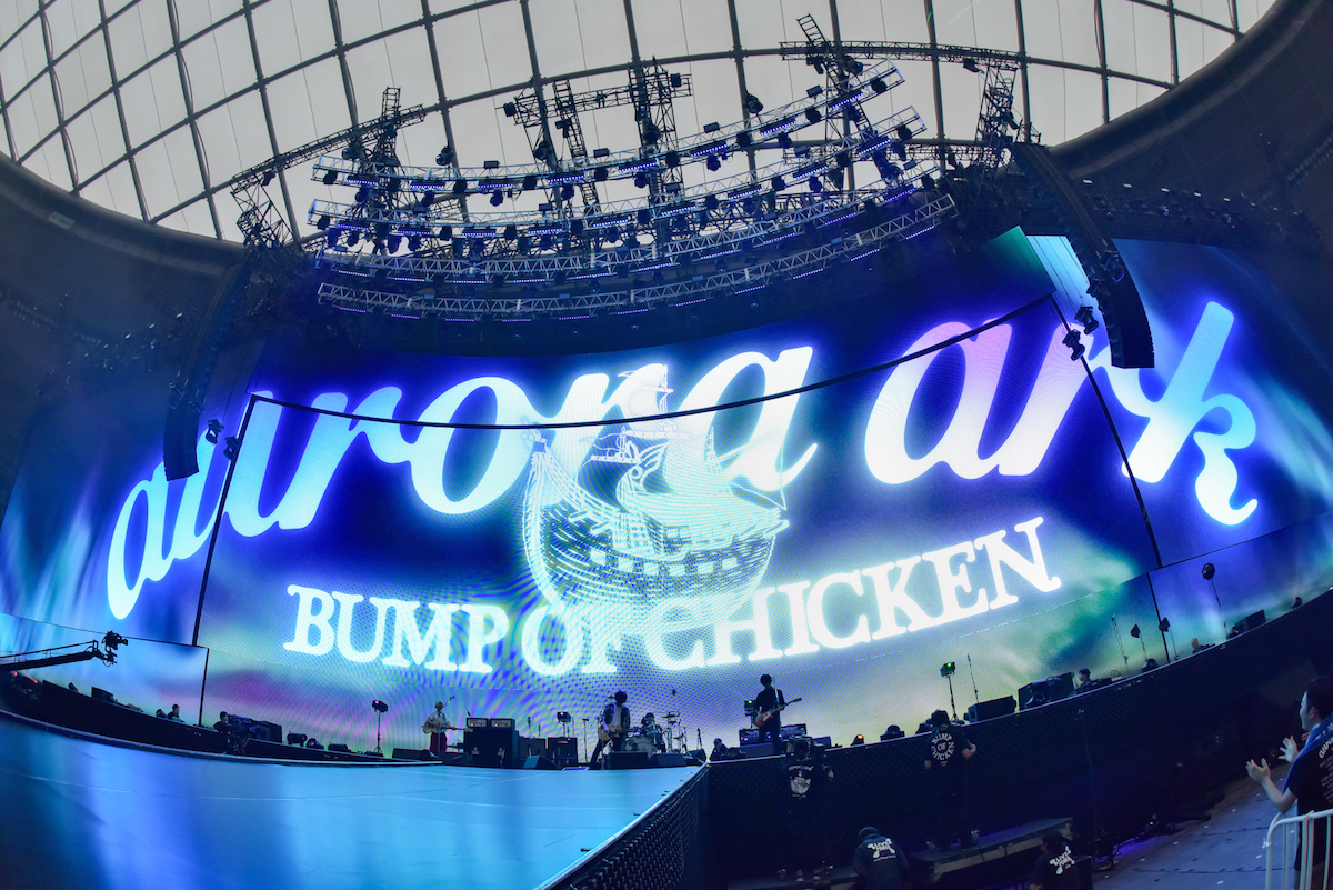 BUMP OF CHICKEN  撮影=古溪一道