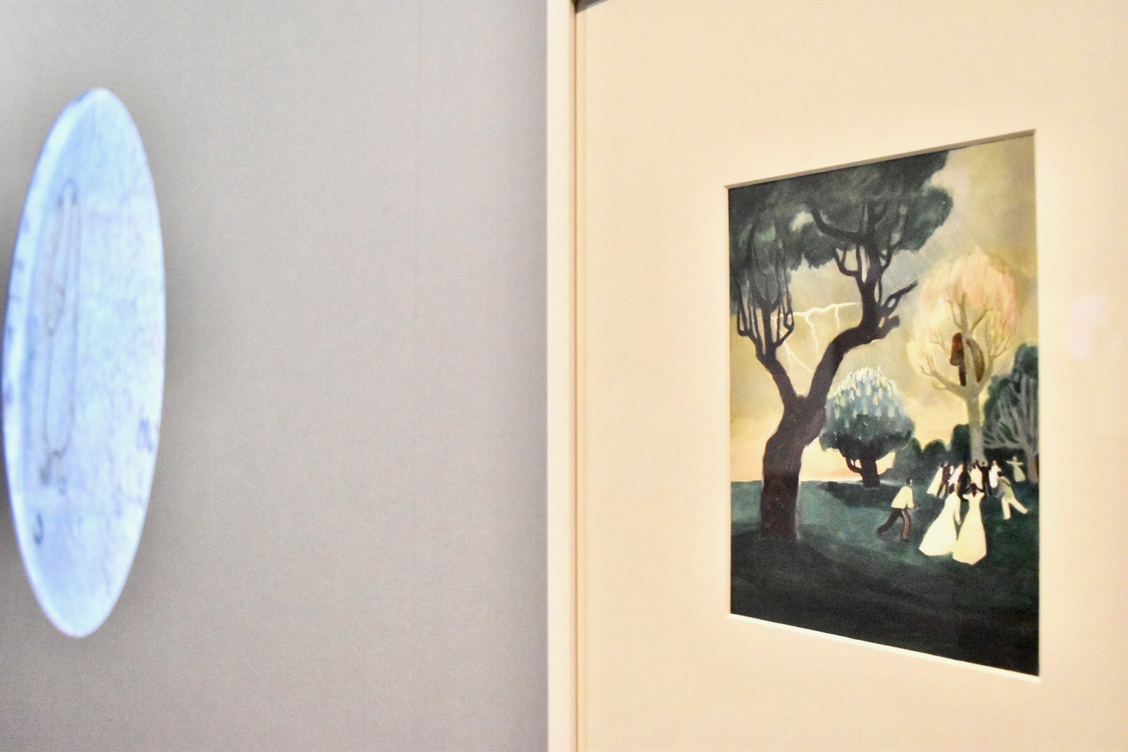 "B.E.コリアンデル ""Månens horn(月の角)"" 表紙 1943年(後年改作) ムーミン美術館"