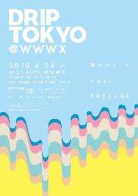 雨パレ、odol、PAELLASが出演するイベント『DRIP TOKYO @ WWW X』が6月に開催 スペシャとJ-WAVEがタッグ
