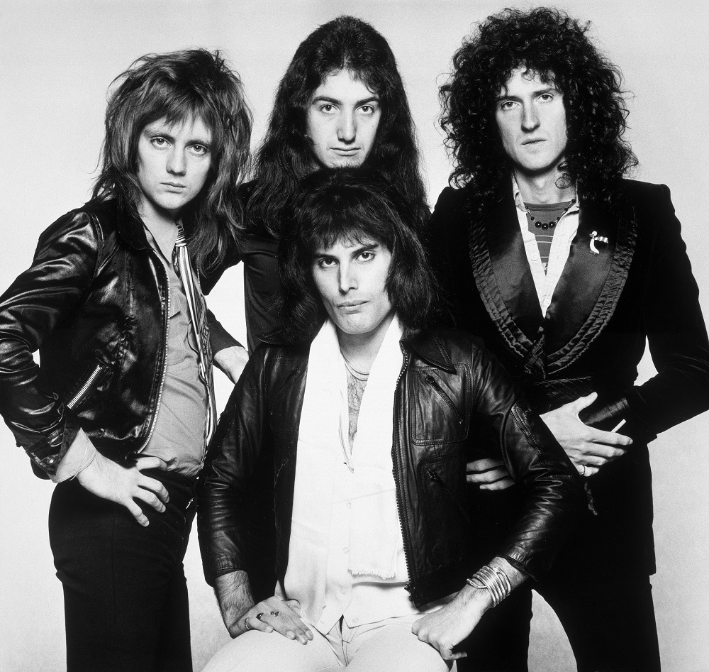Queen Photo by Terry O'Neill 1975