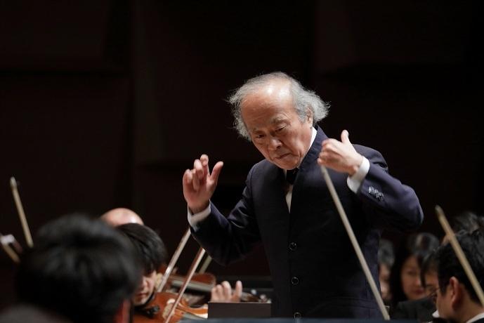 伝統のブルックナー交響曲第8番を指揮する尾高忠明音楽監督 (C)飯島隆