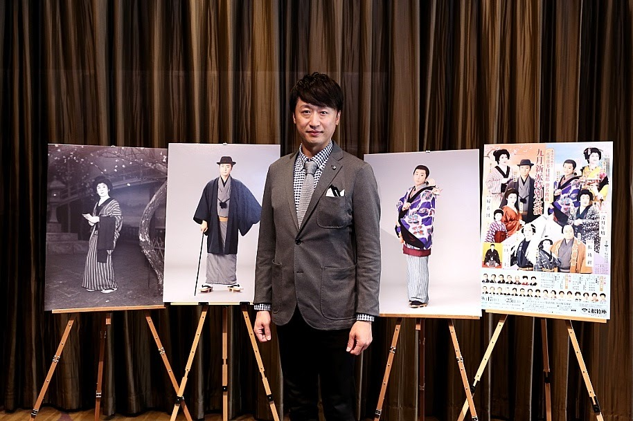 「九月新派特別公演」で二代目喜多村緑郎を襲名する市川月乃助