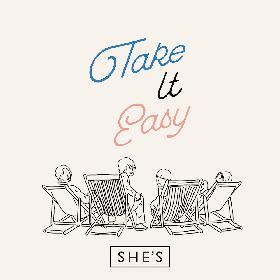 SHE'Sが新曲「Take It Easy」リリースを発表 MV出演賭けたオーディションも