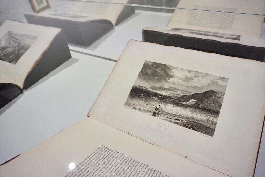 『ピクチャレスクーイングランド南海岸の描写』第4集(全16集) 1814年 エッチング、ライン・エングレーヴィング/ポートフォリオ(全5図、うちターナー2図)郡山市立美術館