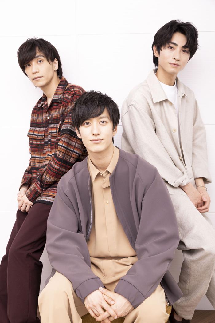 (左から)平間壮一、水田航生、木村達成