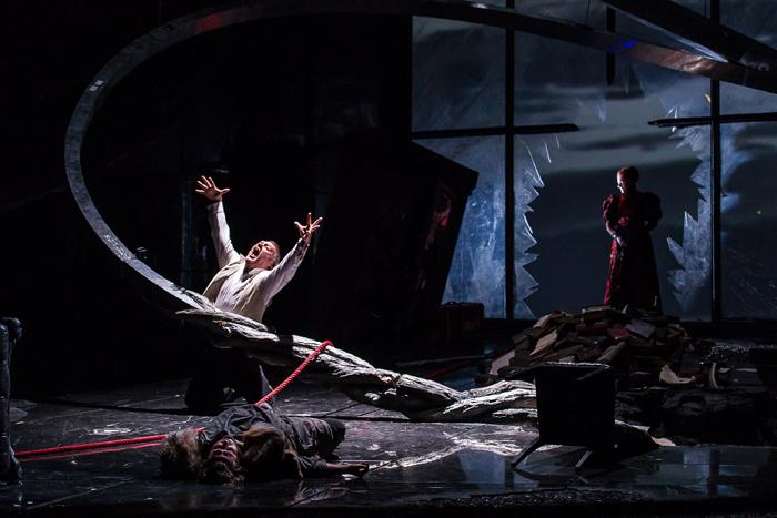 「ワルキューレ」Bryn Terfel as Wotan  (c) ROH 2012. Photograph by Clive Barda