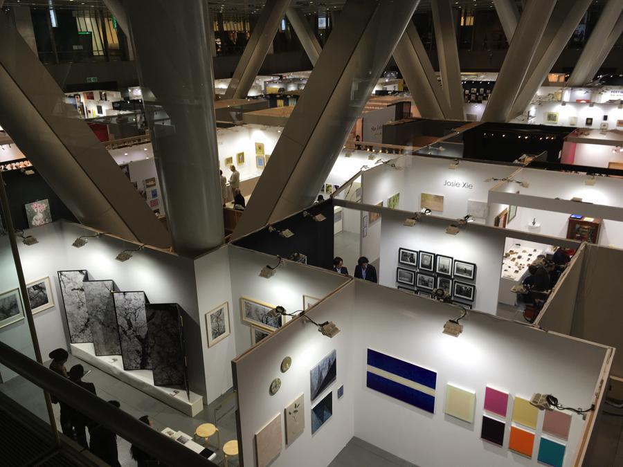 「アートフェア東京2018」会場風景