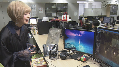 最上もがが『バイオハザード』開発舞台裏に潜入、NHK『かんさい熱視線』