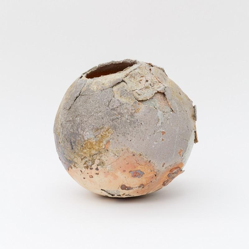 上田勇児《壺》2015 直径25×28.5×口径11cm