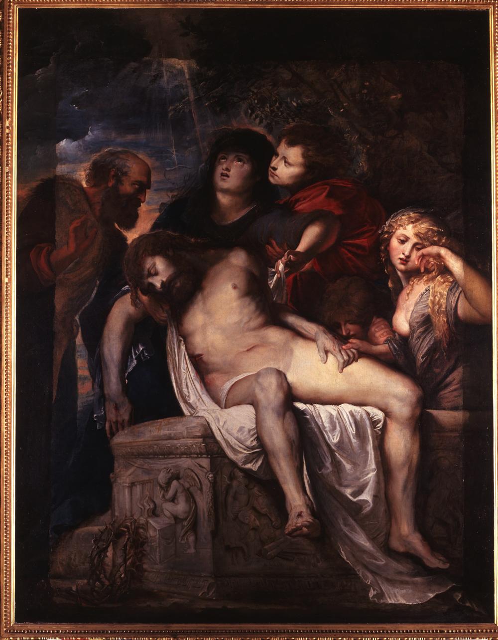 ペーテル・パウル・ルーベンス《キリスト哀悼》 ローマ、ボルゲーゼ美術館