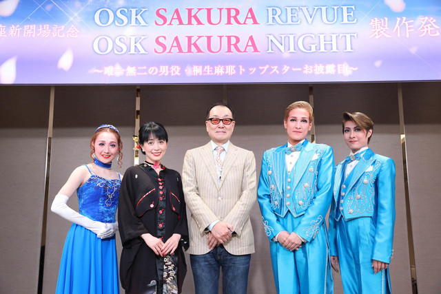 左から舞美りら、横山智佐、広井王子、桐生麻耶、楊琳。