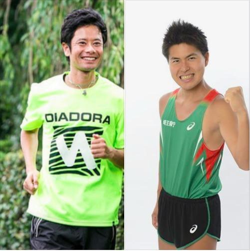 コーチを務める西田隆維コーチ(左)、M高史コーチ