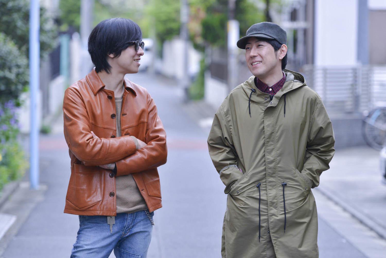 ホリエアツシ / 安部コウセイ 撮影=高田梓