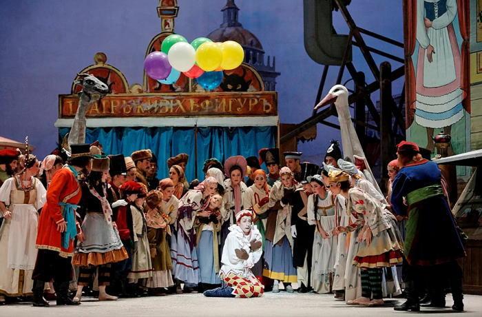 パリ・オペラ座『バレエ・リュス』より「ペトルーシュカ」