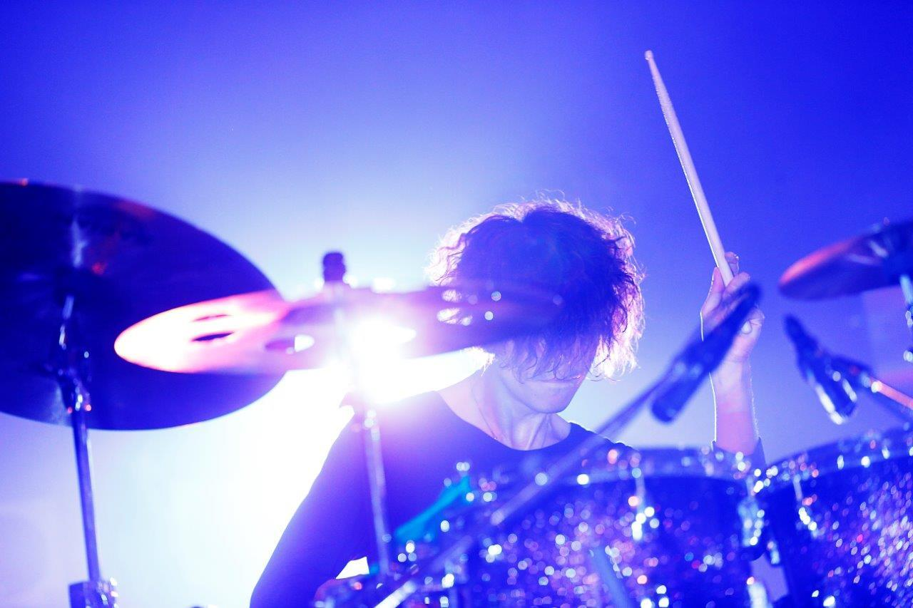ACID ANDROID 山口大吾(Dr)@7月8日CLUB CITTA' photo by 岡田貴之