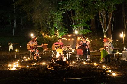 キャンプ型音楽メディア「WILD STOCK」SPICEが中心となって立ち上げ 第一回ゲストはSCANDAL