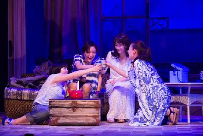 KERAの名作戯曲『フローズン・ビーチ』プレビュー公演 鈴木裕美の演出でよりスリリングな会話劇に
