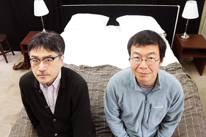 左:山内ケンジ、右:山内健司