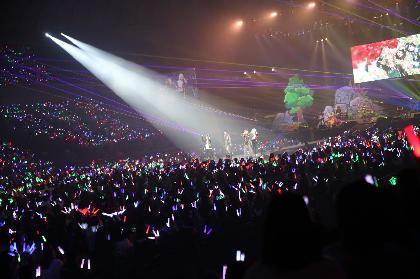 そらまふうらさか 新年ライブ・横浜アリーナで見せた変わらぬ4人の関係性