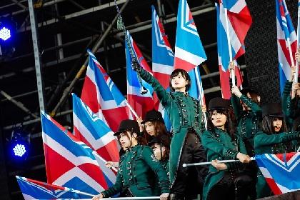 """欅坂46の野外初ワンマンライブで25,000人が熱狂 """"カッコイイ""""アイドルの""""カッコイイ""""ステージが展開"""