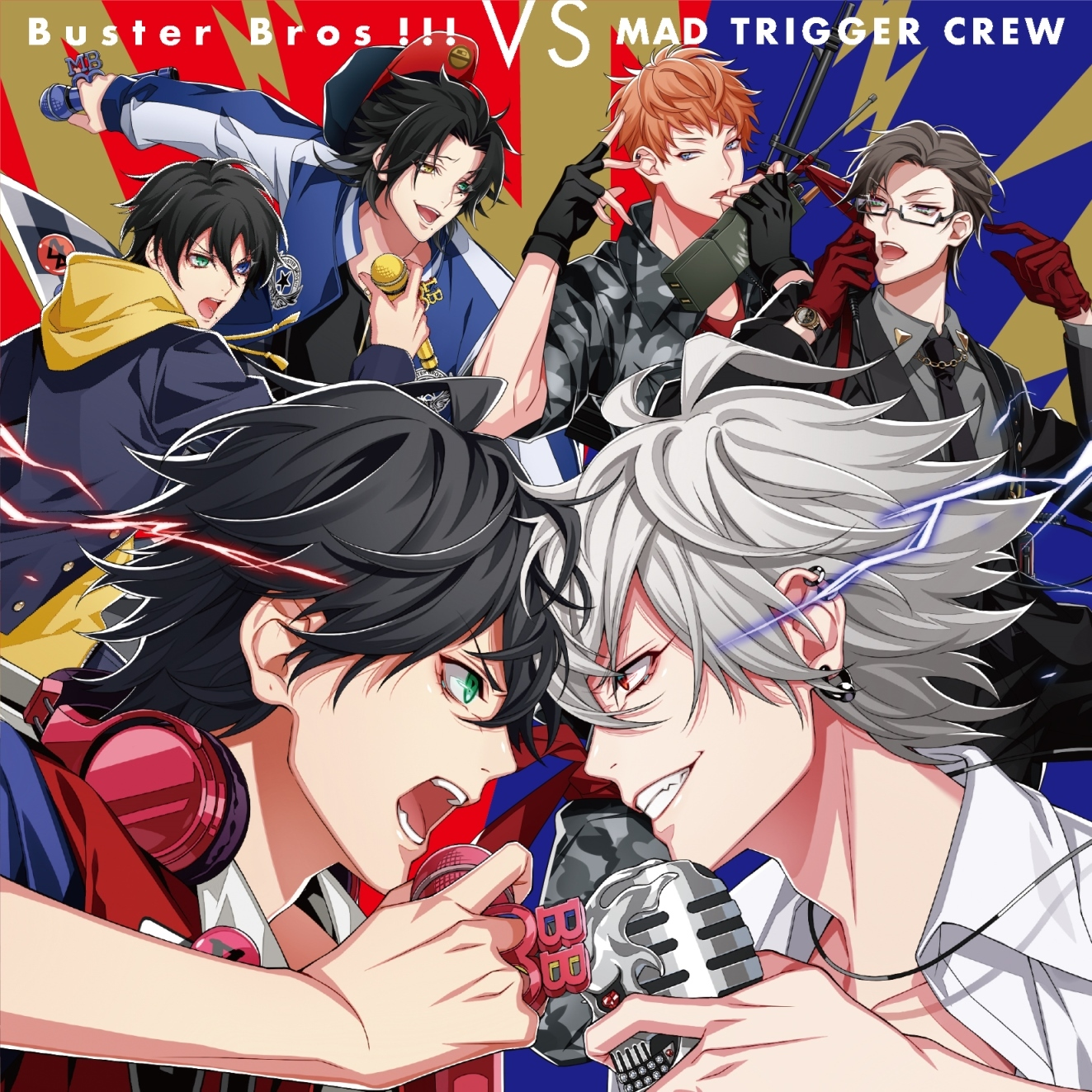 Buster Bros!!!・MAD TRIGGER CREW「Buster Bros!!! VS MAD TRIGGER CREW」 (c)King Record Co., Ltd.