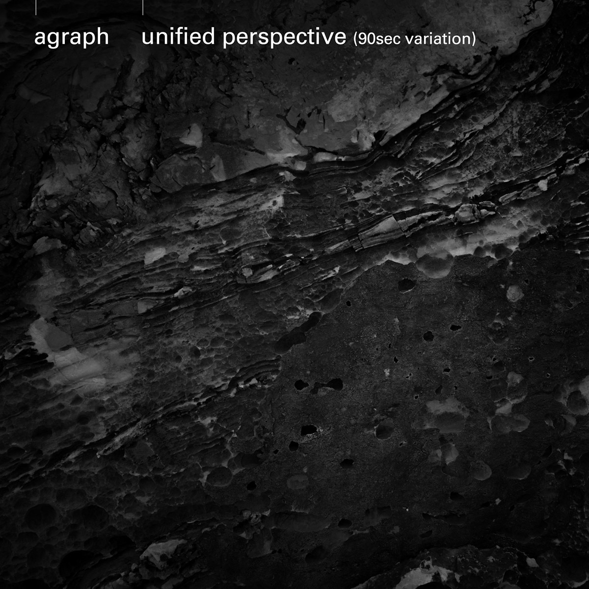 agraph feat. ANI(スチャダラパー)「unified perspective」配信ジャケット