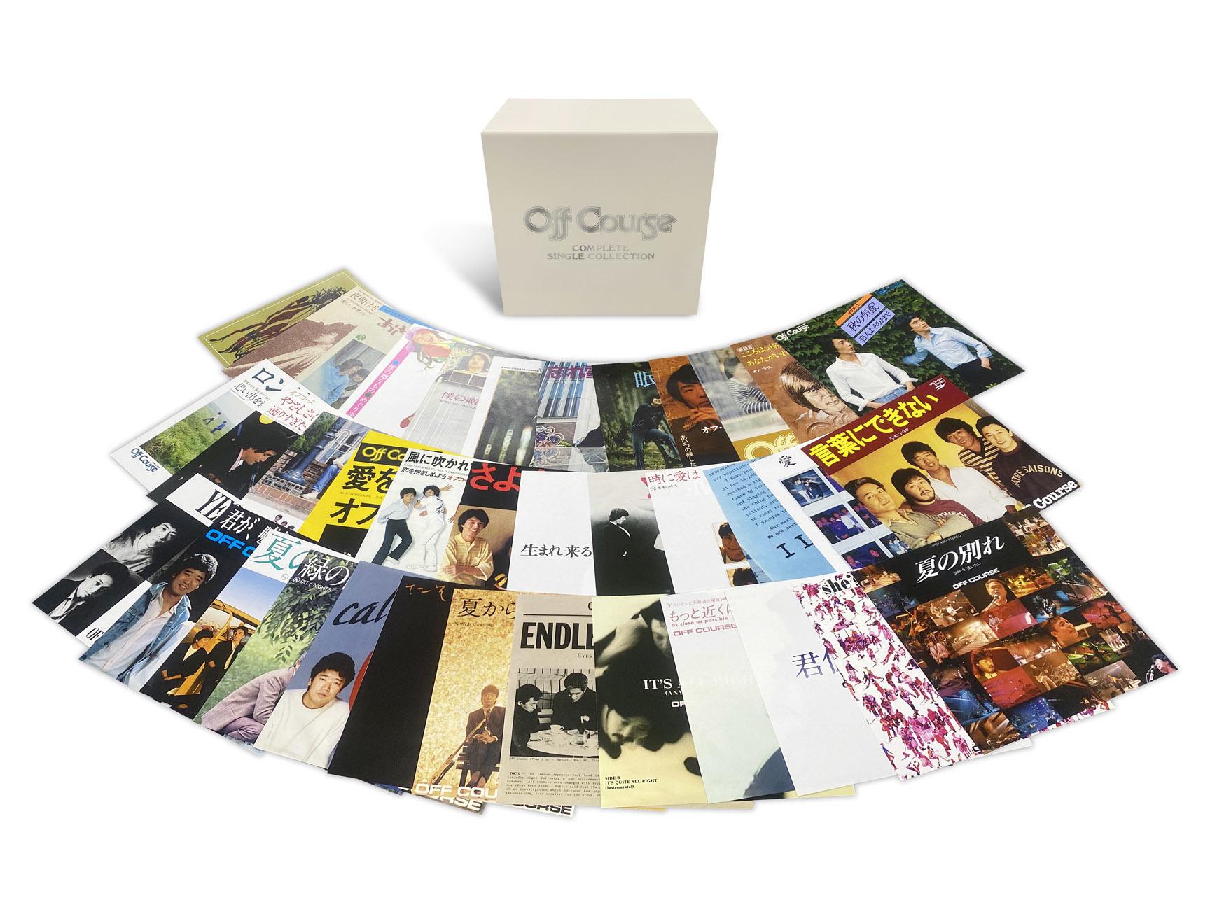 CD BOX『コンプリート・シングル・コレクション』展開写真