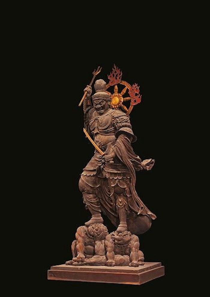国宝 持国天立像 平安時代・承和6年(839) 東寺蔵