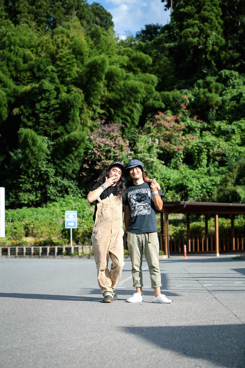 G-FREAK FACTORY・茂木洋晃 / HAWAIIAN6・HATANO 撮影=風間大洋