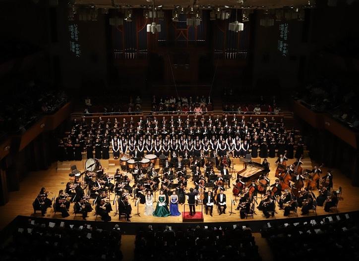 平成30年「海道東征」コンサート〈ザ・シンフォニーホール〉 (C)産経新聞社