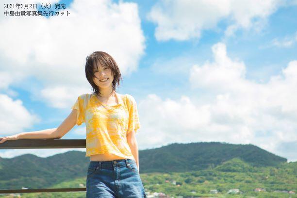 中島由貴写真集(仮)先行カット (C)Shufunotomo Infos Co.,Ltd. 2020