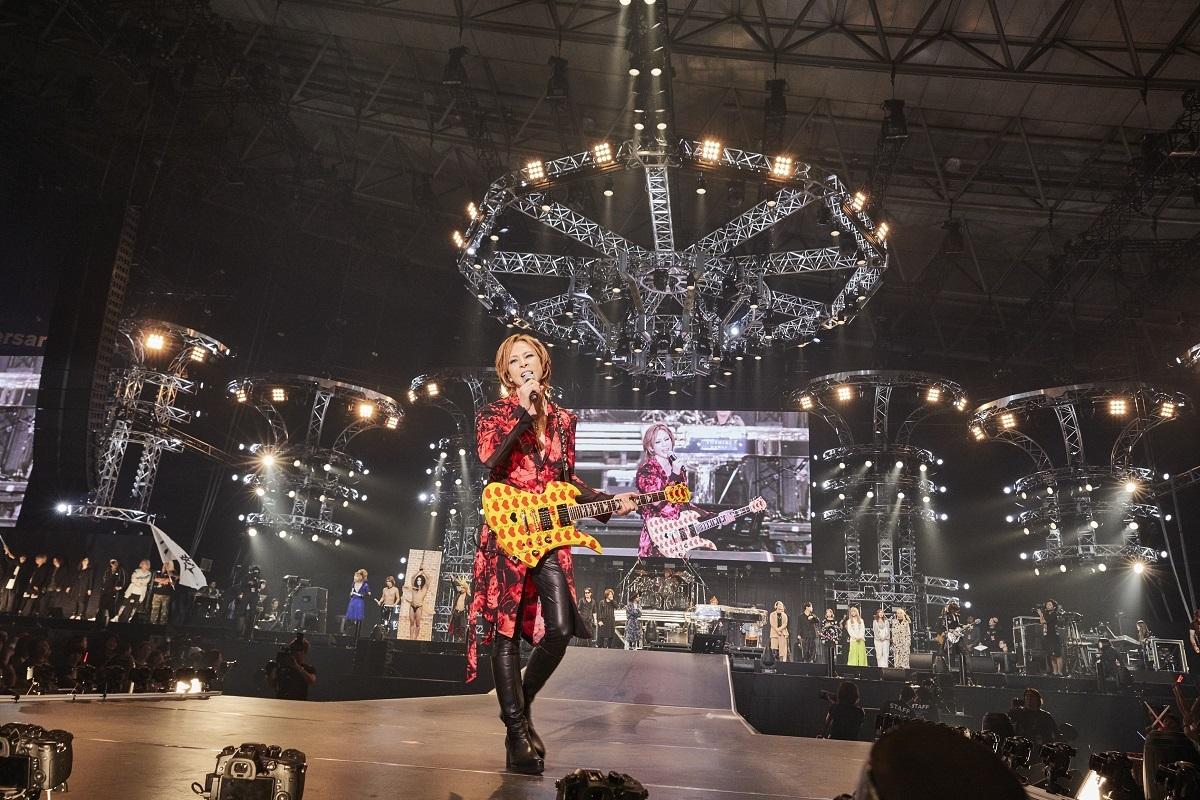 YOSHIKI『テレビ朝日ドリームフェスティバル2019』