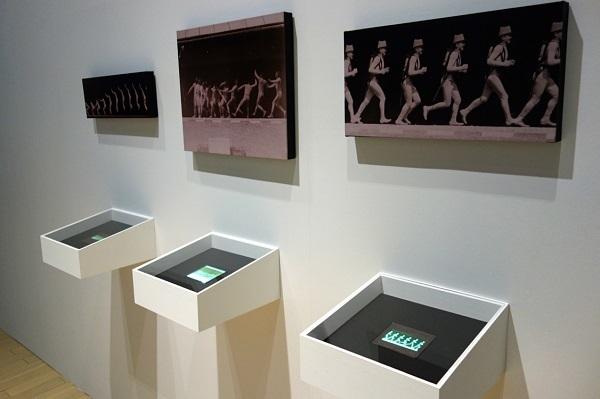 エティエンヌ=ジュール・マレー《題不詳(投げる男性)》1885-1890/クロノフォトグラフィ/東京都写真美術館蔵