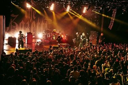 the GazettE、12の国と地域をめぐるワールドツアーからニューヨーク公演のライブ写真を公開
