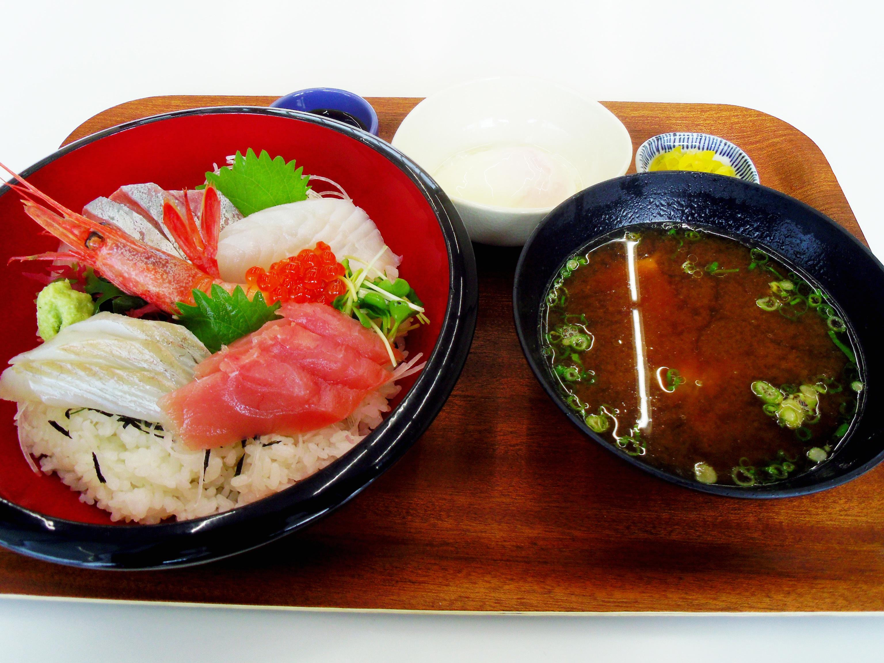 海鮮丼(道の駅)