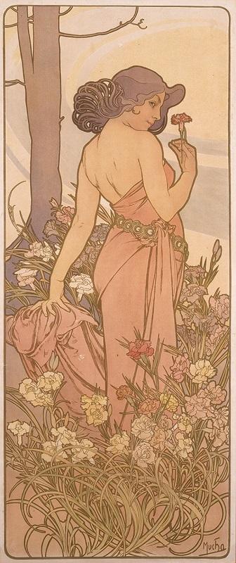 《四つの花「カーネーション」》 1897年 堺市