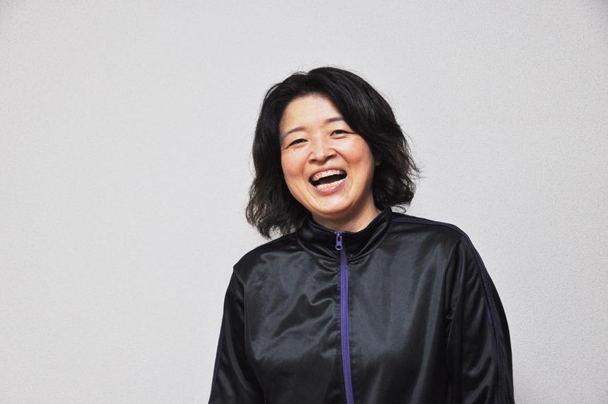 宮川サキ。 [撮影]吉永美和子