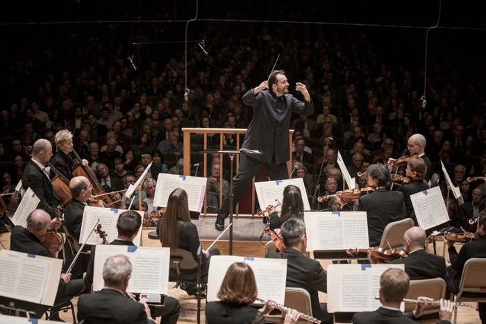 Boston Symphony Orchestra and Andris Nelsons (Photo by Marco Borggreve)