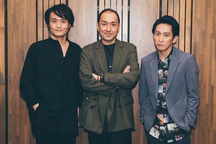 (左から)亀田佳明、上村聡史、成河 (撮影:ジョニー寺坂)