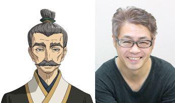 ■ワン・イーシン役:中博史 (C)カトウコトノ・講談社/将国のアルタイル製作委員会