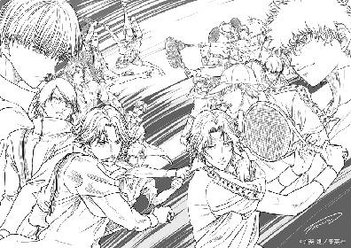 氷帝vs ⽴海、許斐剛マッチメイク完全監修で『新テニスの王⼦様』オリジナルストーリーのアニメ製作が決定